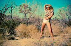 Feral Desert Fashion Photography
