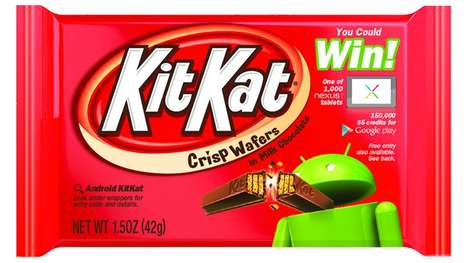 20 Worldly Kit Kat Creations - From Singing Squirrel Commercials to Smart Snack Marketing