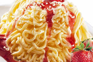 This Spaghetti Ice Cream is a Sugar-Infused Way to Eat Pasta