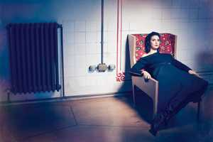 The L'Officiel Turkey September 2013 Edition Features Ahu Yagtu
