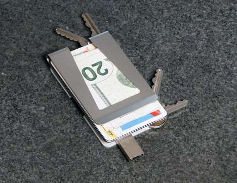 wallet and key organizer