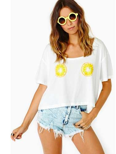 This Fresh Squeeze Tee is a Cute and Quirky Fashion Piece