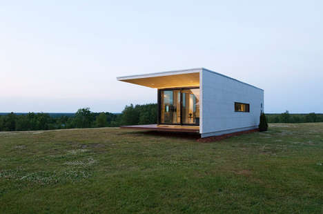 Ultra Modern Portable Homes - The Passion House by Architect 111 is a Luxurious Mobile Home