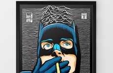 Butcher Billy's Remixed Batman Portrait Has an Edgy Punk Feel