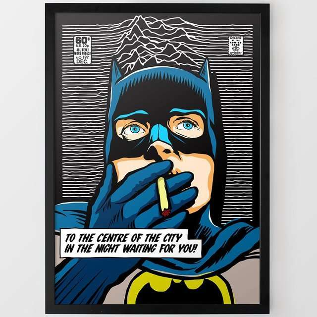 Post-Punk Superhero Portraits