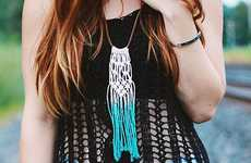 The Merrythought Shows How to Make this Macrame Tassel Necklace