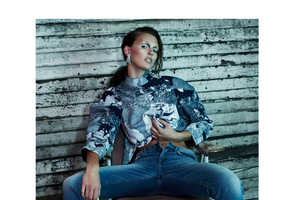 The Flaunt Magazine Denim Issue Has a Playfully Defiant Feel