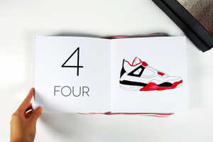 Design Student Jacinta Conza Makes a Counting Book for Sneakerheads