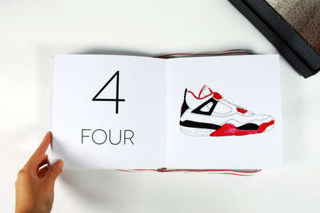 counting book for sneakerheads