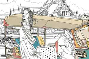 The Illustrations by Ise Ananphada Will Take You On a Journey