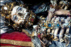 These Incredible Jeweled Skeletons are Historic Pieces from Rome
