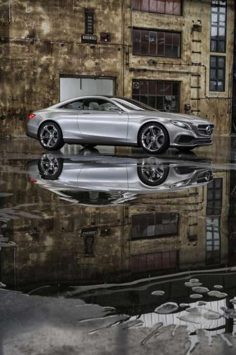 Luxuriously Powerful Concept Cars - The Mercedes S-Class 2014 Coupe Pairs Aggression with Elegance