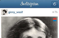 Iconic Writer Instagram Spoofs - This Instagram Parody Brings Old-School into Modern Times