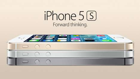 Multicolored Phone Launches - The All New iPhone 5S Keeps True to Tradition with Updated Features