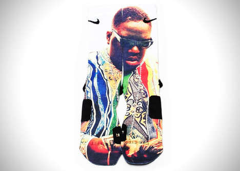 Iconic Pop Culture Socks - The Nike Elite Crew Dri-Fit Socks Take Inspiration From Pop Icons
