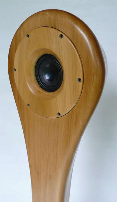 Wood-Grain Audio Projectors - Project Fresh Tunes from the Fresh Wood Speakers by Audiowood