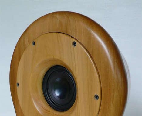 Sculptural Audio Speakers