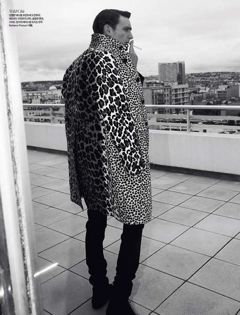 Flamboyant Frenchman Editorials - The Man in Paris Harper