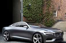 Seductive Swedish Automaker Makeovers - The Volvo Concept Coupe is Designed to Be Beautiful and Safe