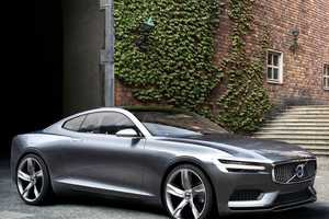 The Volvo Concept Coupe is Designed to Be Beautiful and Safe