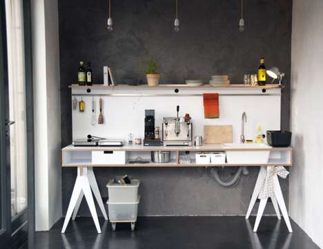 Small Space Kitchen Unit
