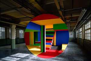 The Incredible Photos by Georges Rousse Manipulate Reality