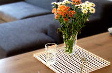 Gridded Dining Decor