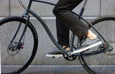 Stunning Traction Bike Shoes - The Carbon Shoe Will Help Make Riding Easier