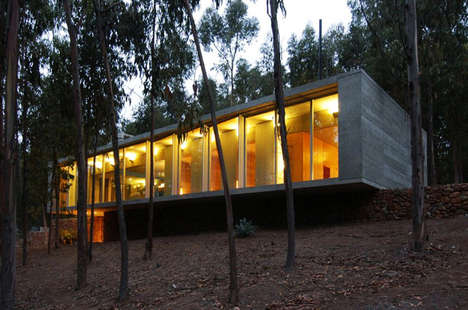 Concrete Forest Homes - The Concrete House Created by