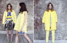 Tropically Vibrant Fashions - This MSGM Resort Collection Features an Abundance of Bold Prints