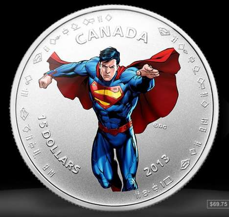 Canadian Superman coins