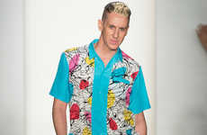 Psychedelic 60s-Inspired Fashion - The Jeremy Scott 2014 Spring/Summer Collection is a 60s Revival