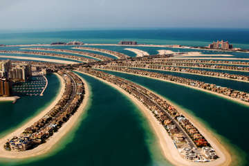 Oddly Shaped Islands - Dubai