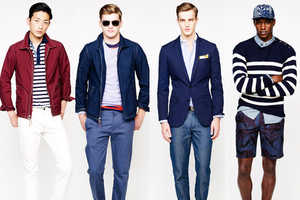 The J. Crew Spring/Summer 2014 Collection is Snazzy and Modern