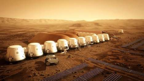 Intergalactic Travel Packages - Thousands Applied to Live on Mars with Mars One