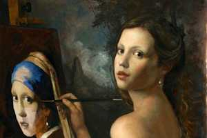 Cesar Santos' Ability to Transform Historic Art is on Full Display