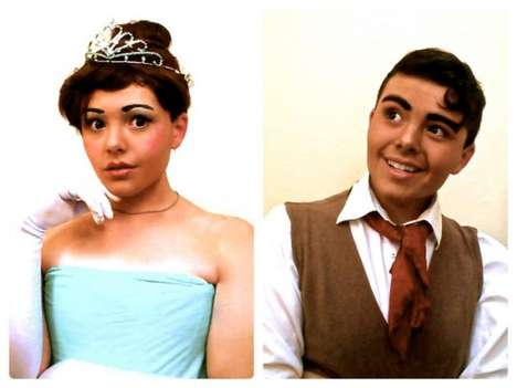 Amazing Androgynous Disney Photos - One Androgynous Costume Maker & Disney Fan Replicated Characters