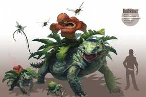 The Realistic Pokemon Created by Arvalis Resemble Dinosaurs