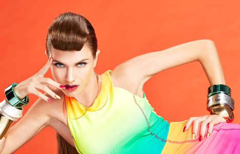 Color Blocking for Nail It Mag