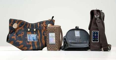 Phone-Integrated Designer Handbags - Sean Miles' Mobile Phone Bags Carry Phones Unusually