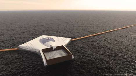Sustainable Ocean Purifying Machines - The Ocean Clean Up Project Has a Five Year Goal