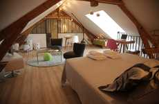 Bijou Attic Hotels - Enjoy the 'Chic Ric et Fer' Attic Guest Room on Your Next Visit to France