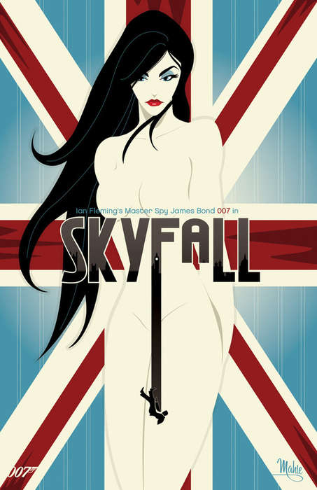 james bond poster art