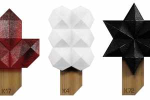 The KYL21 Molecular Design Ice Pops are a Visual Treat
