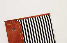 Leather-Crafted Tablet Protectors - The Gualala iPad Envelope from Anthropologie is Hand-Made
