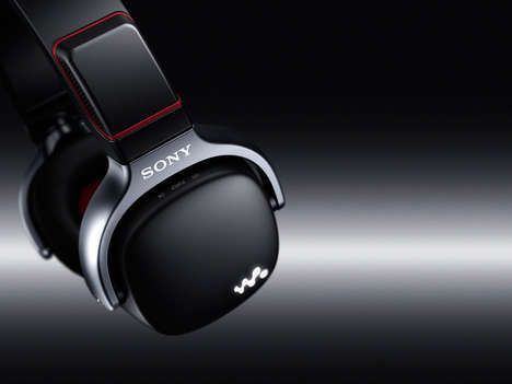 Versatile Vanguard Headphones - Sony's 3-in-1 Walkman WH Series Stores and Blasts Tunes