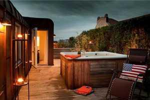 Swedish Design Combines Rustic Patios with Classy Modern Interiors