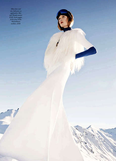 Glamorous Winterwear Editorials - The Harper