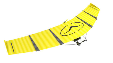 Portable Jet-Propelled Gliders - The Patrol Ultralight Aircraft is a Compact Portable Hang Gilder