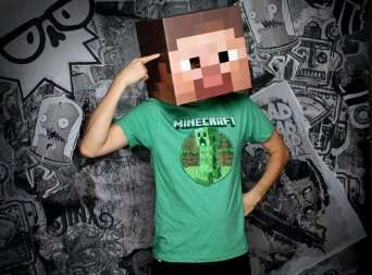 Halloween Minecraft costume